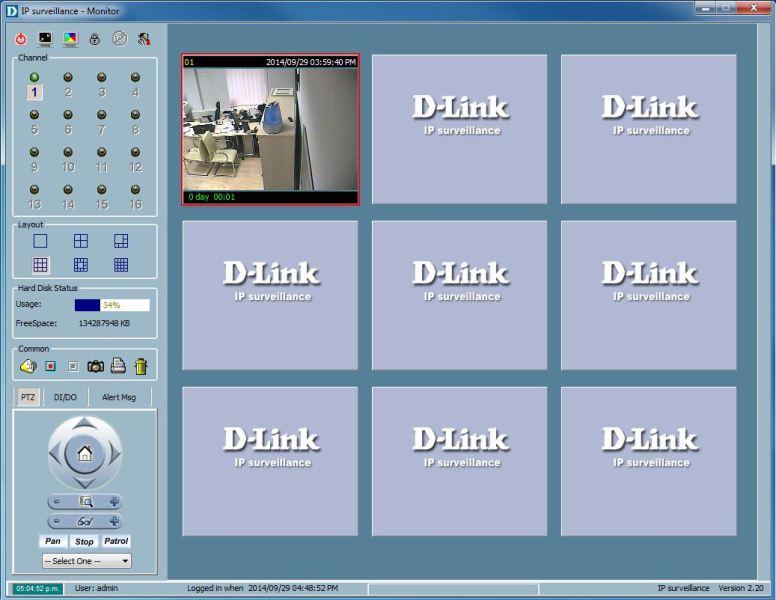 программа для просмотра видео с ip камеры d-link dcs-6620g
