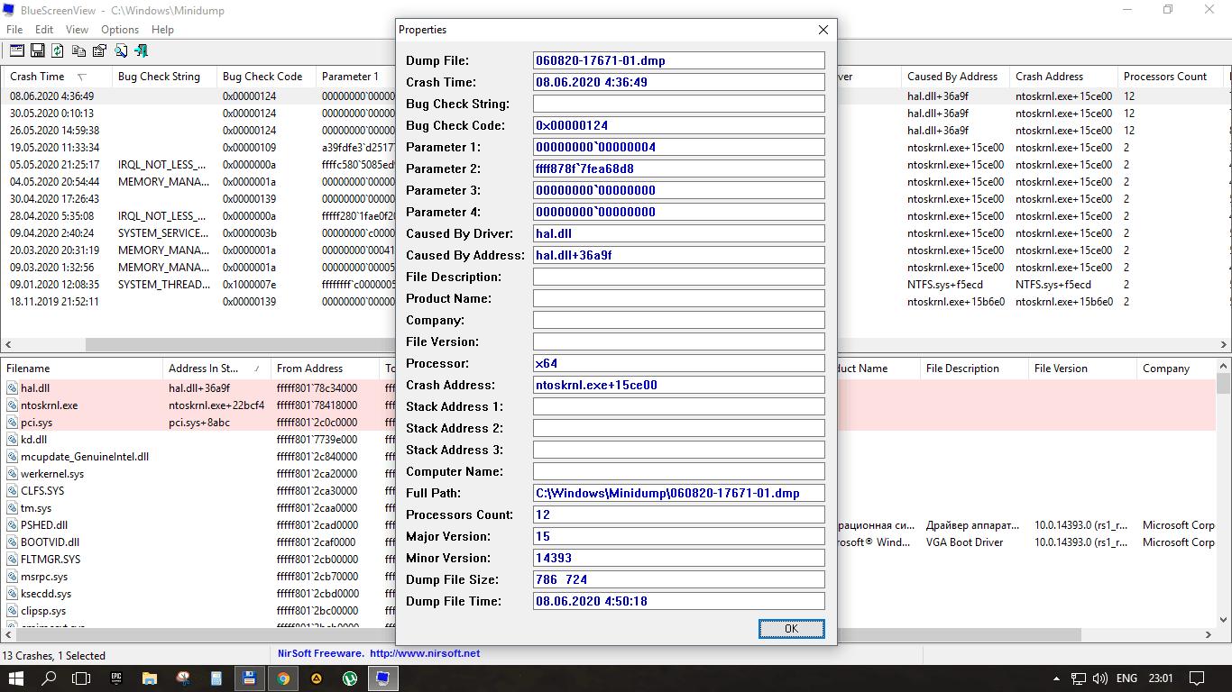 Как исправить ошибку WHEA_UNCORRECTABLE_ERROR (0xc0000124), в Windows 10, 8 и Windows 7