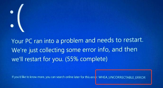 Как исправить ошибку WHEA_UNCORRECTABLE_ERROR, в Windows 10, 8 и Windows 7