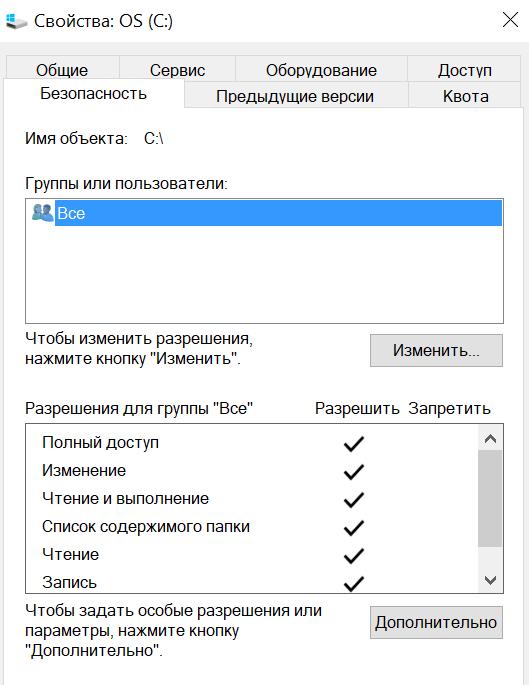 Google chrome: Ошибка недостаточно прав, не скачиваются файлы